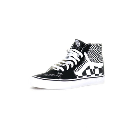 Vans SK8-Hi Mix Checker - Black/True White