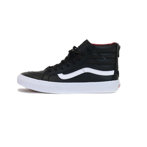 Vans SK8-Hi Slim Zip- Black/Plaid