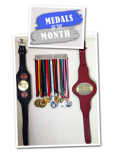 Frank Mulley's Medals and Belts