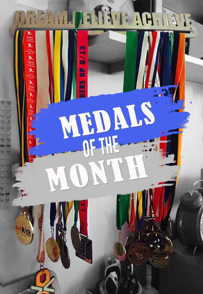 Medal Display of The Month