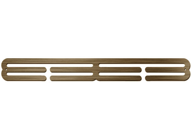 Bronze Plated Medal Display Hanger - Double Extension Bar™