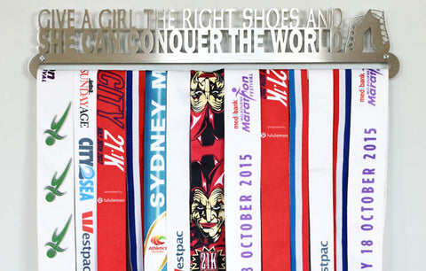 Dancing Medal Display Hanger - Give a Girl the Right Shoes...™