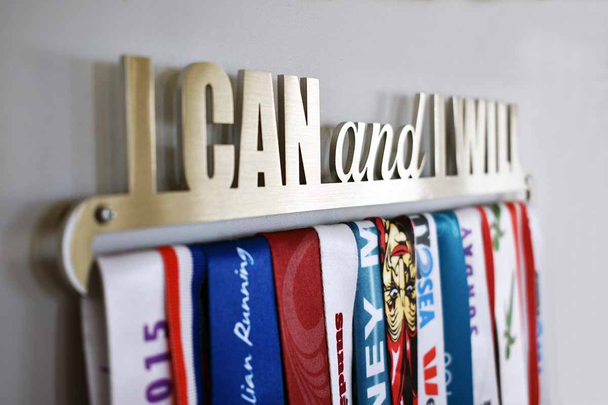 Medal Display Hanger - I Can and I Will™