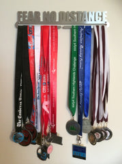 Race Medal Display Hanger - Fear No Distance - MedalDisplays.co.uk