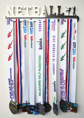 Medal Display Hanger - Netball - MedalDisplays.co.uk