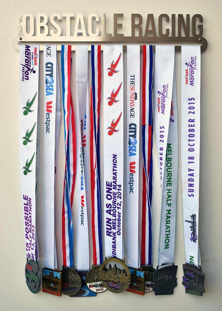 Medal Display Hanger - Obstacle Racing™ - MedalDisplays.co.uk