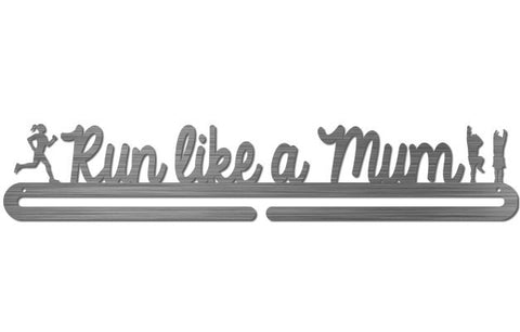 Running Race Medal Display Hanger - Run Like a Mum - MedalDisplays.co.uk