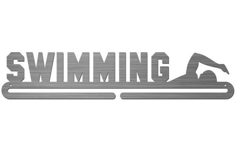 Medal Display Hanger - Swimming - MedalDisplays.co.uk