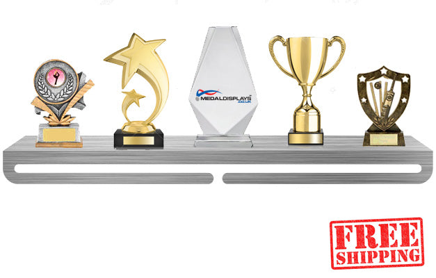 Trophy Shelf with Medal Display™ - MedalDisplays.co.uk