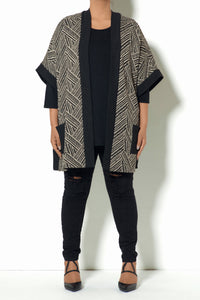 Open Front Tribal Poncho