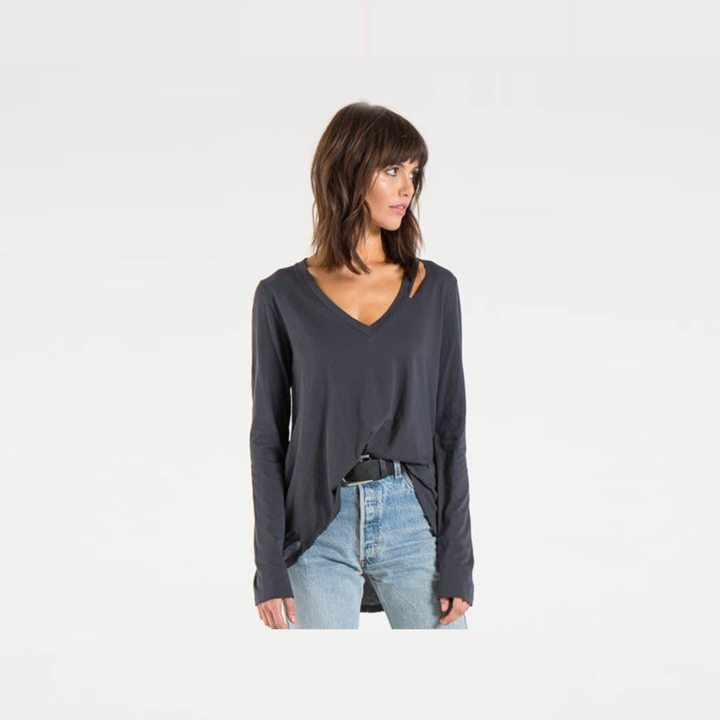 Bonnie High-Low L/S Top