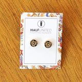 Half United Gold Ali Earrings