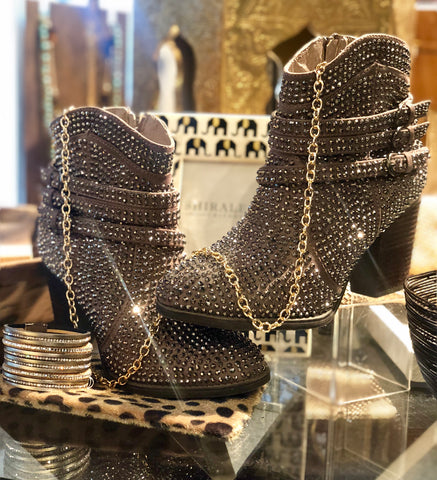 Very G Mega Bling Booties