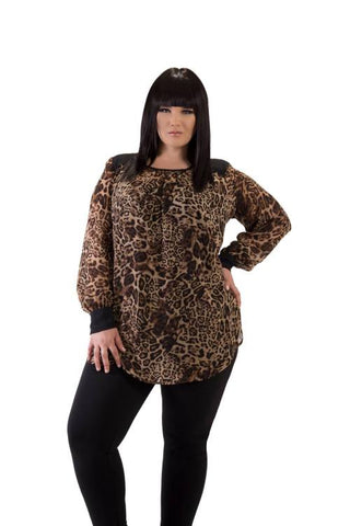 Animal Yoke Tunic