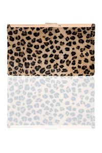 Shiraleah Leopard Preston Clutch