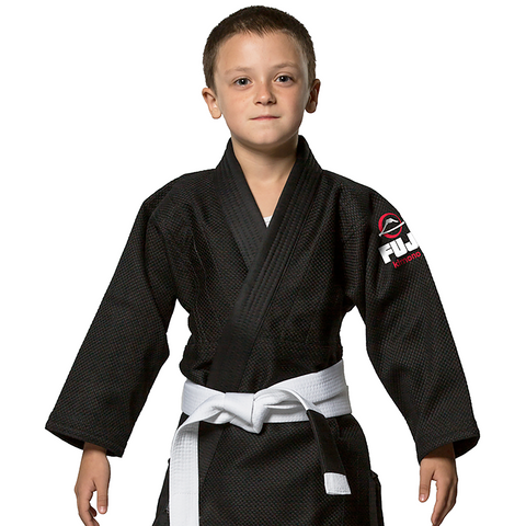 Fuji AA Kids BJJ GI Black