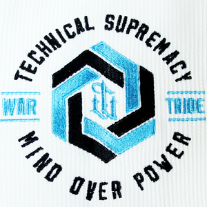 War Tribe | Ice Weave White