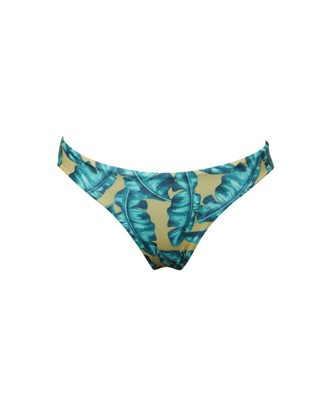 MALIBU REVERSIBLE BOTTOM | TROPICAL/GREEN