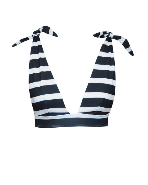 MYTROS TOP | STRIPE B&W