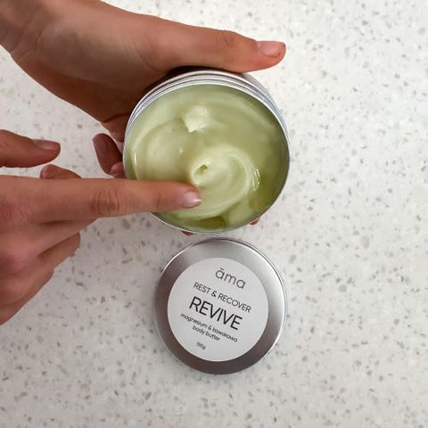 Magnesium & Lavender Body Butter and Magnesium & Kawakawa Body Butter
