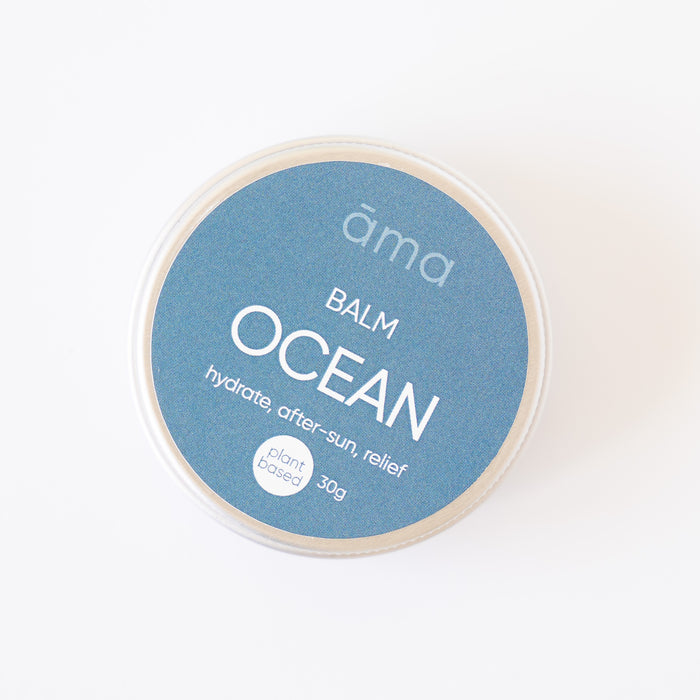 Ocean Balm - Plant Based with Kānuka & Mānuka Essential Oils