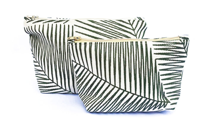 Cosmetic Bag, small and medium, fully lined