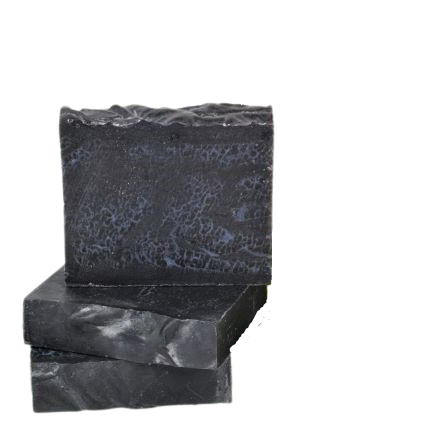 Activated Charcoal & Rose Geranium Soap Bar