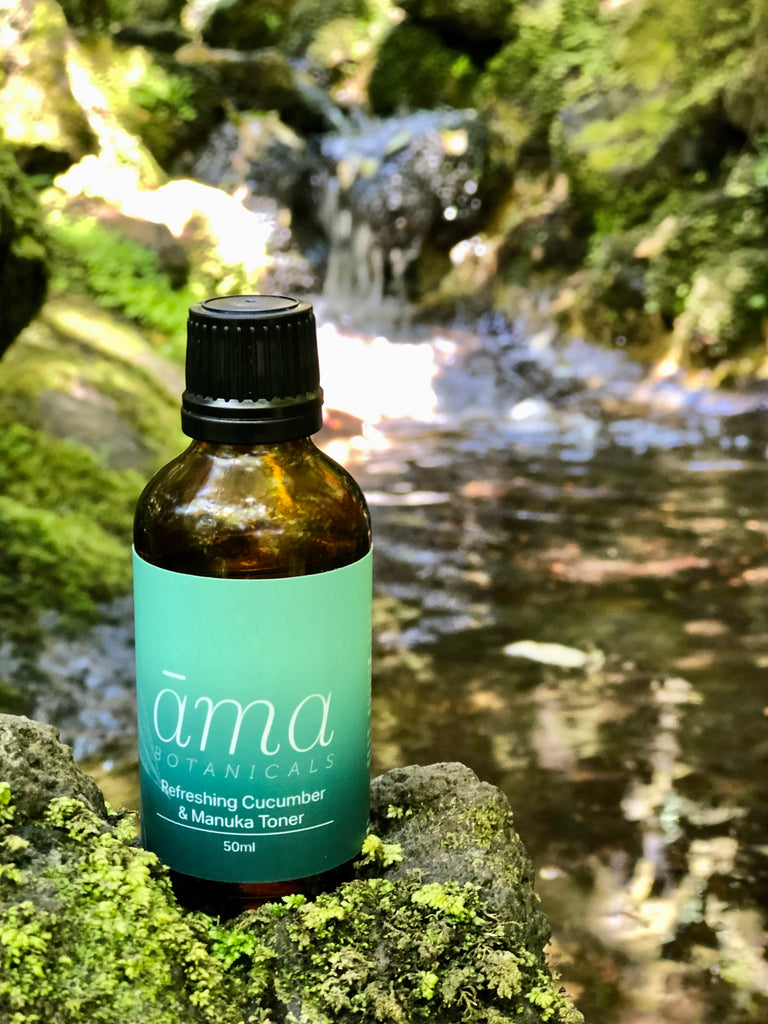 āma Botanicals Refreshing Cucumber & Manuka Toner 50ml