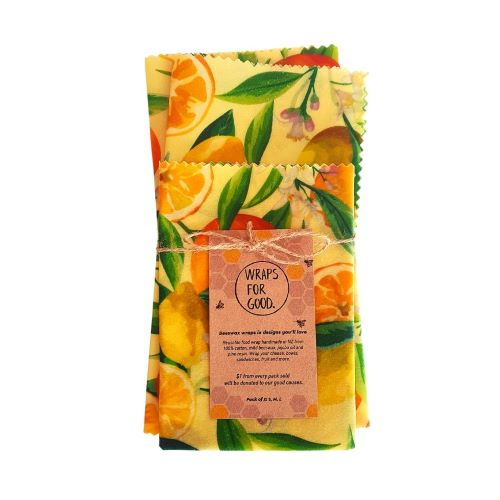 Wraps for Good - Citrus, 3 sizes