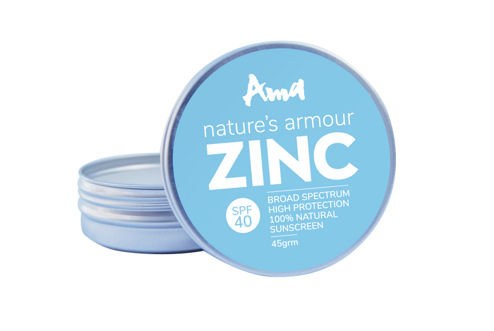 SPF40 Broad Spectrum High Protection Sunscreen ZINC Oxide