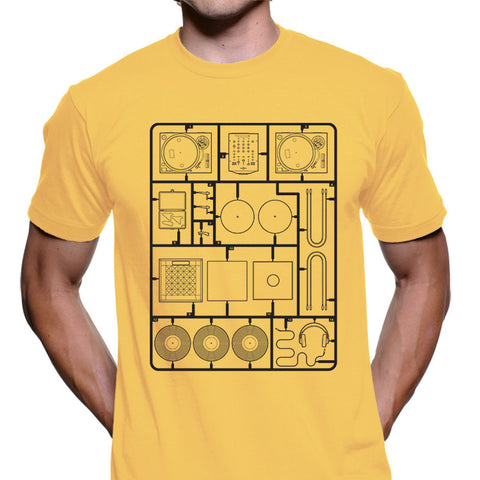 Assembly Required DJ Setup Men's Graphic Tee