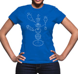 Exploded Cupcake Women's Graphic Tee