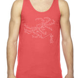 Exploded King Crab Unisex Tank Top