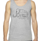 Woolly Mammoth Butcher Cut Unisex Tank Top
