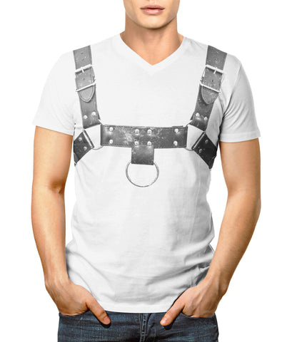 BDSM Sub Leather English Bulldog in Front Design
