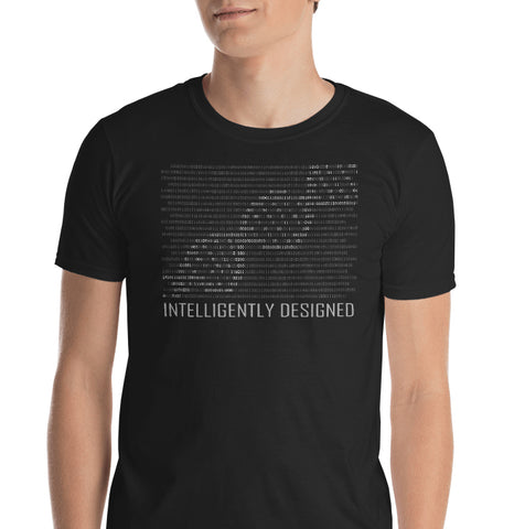Intelligently Designed Binary Graphic Tee
