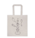 Exploded Cupcake Tote Bag
