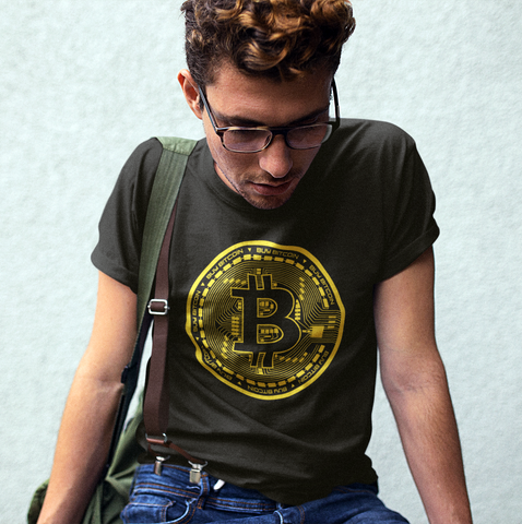 Buy Bitcoin Circuit Design Men's Graphic Tee