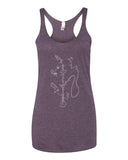 Exploded Hookah Women's Racerback Tank