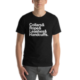BDSM List Restraint Graphic Tee