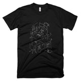 Exploded Modern Workspace Graphic Tee