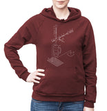 Exploded Beertap and Mug Unisex Fleece Pullover Hoodie