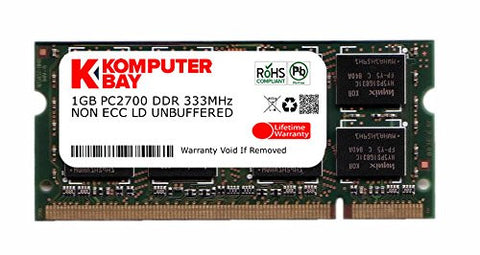 1GB DDR Laptop Memory
