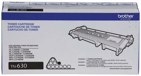 Brother TN630 Standard Yield Toner