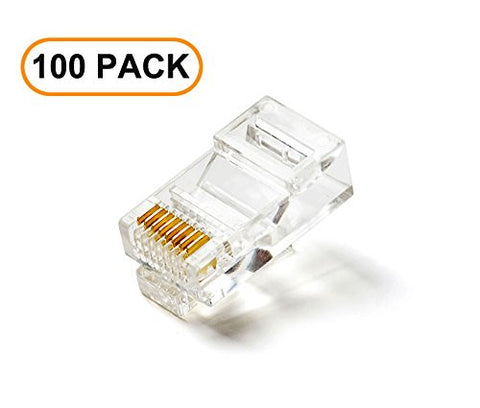 100-Pack of Cat5e RJ45