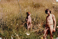 Michael Doerksen: Man with Cheetah