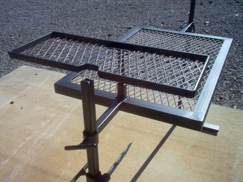 We are glad to work with folks to find a custom grill set up that suits their particular need.