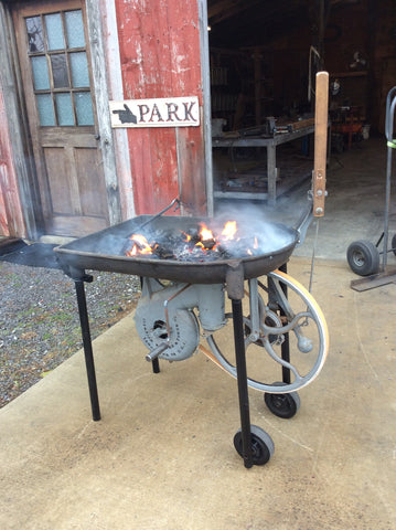1930 Champion Lever Forge burns again