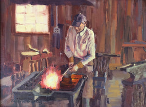 Gallery of Artist Blacksmith Walter Howell of Walter Forge