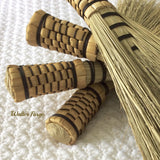 Ash Brooms are hand tied and easily replaced when worn out.